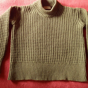 Everlane Wool Cashmere Knit Crew Sweater